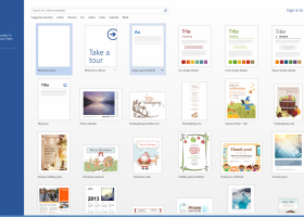 Microsoft Office 2013 screenshot