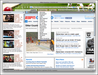 Cricket Firefox Theme screenshot