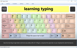 TypingCenter (Learn to Type) screenshot