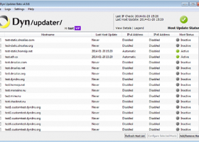 DynDNS Updater for Windows screenshot