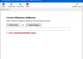 MDaemon to Outlook PST Converter screenshot