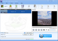 Lionsea DVD To MP4 Converter Ultimate screenshot