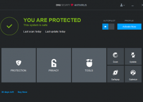 Chili Security Antivirus screenshot