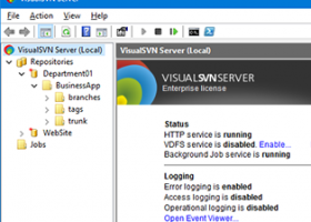 VisualSVN Server screenshot