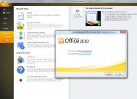 Microsoft Office 2010 x32 screenshot