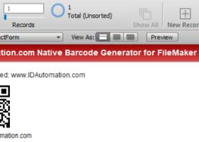 GS1 QR Code FileMaker Native Barcode - Windows 8 Downloads