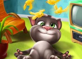 My Talking Tom for PC Download screenshot