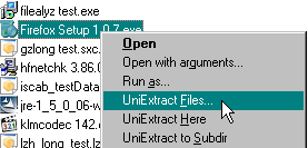 X-UniExtract screenshot