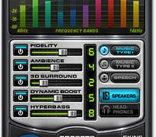 DFX 9 Audio Enhancer screenshot