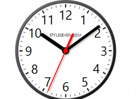 Desktop Clock Plus-7 screenshot
