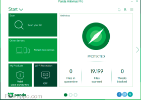Panda Antivirus Pro screenshot