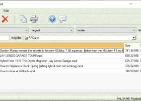 FRSFileList screenshot