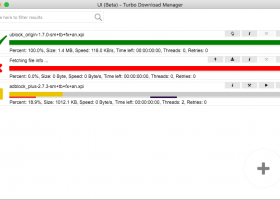 Turbo Download Manager screenshot