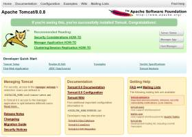 Apache Tomcat screenshot