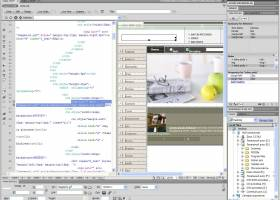 Adobe Dreamweaver CS5 screenshot
