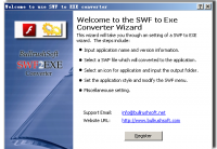BullrushSoft Swf to exe Converter screenshot