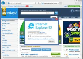 Internet Explorer 10 screenshot