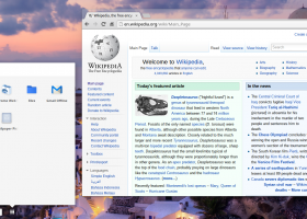 Chromium screenshot