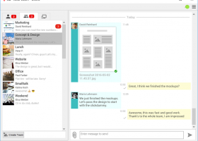 Sid Secure Messenger and File Transfer screenshot