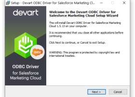 Salesforce Marketing Cloud (ExactTarget) ODBC Driver (32/64 bit