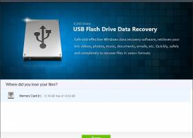 IUWEshare USB Flash Drive Data Recovery screenshot
