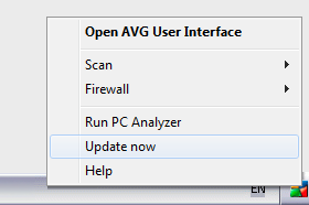 AVG Rescue USB screenshot