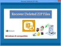 Recover Deleted ZIP Files screenshot