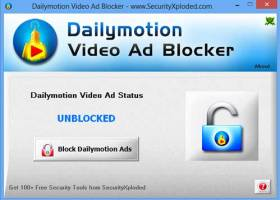 Dailymotion Video Ad Blocker screenshot