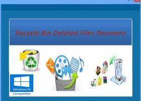 Recover Deleted Files from Recycle Bin screenshot