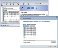 TurboZIP Compression Suite screenshot