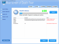 Smart Blue Screen Of Death Fixer Pro screenshot