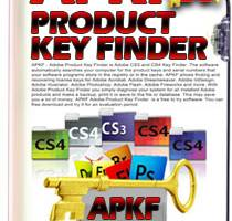 Adobe Product Key Finder screenshot