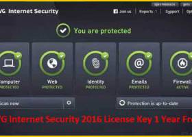 AVG Internet Security 2016 screenshot