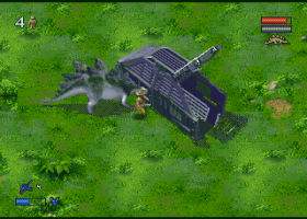 Jurassic Park 2 - The Lost World screenshot