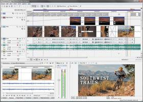 Sony Vegas Movie Studio Platinum screenshot