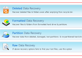 Data Recovery Software screenshot