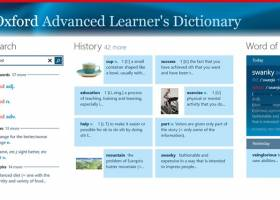 Oxford Advanced Learner's Dictionary for Windows UWP screenshot