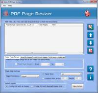 Apex PDF Page Size Editor screenshot