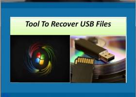Tool To Recover USB Files screenshot