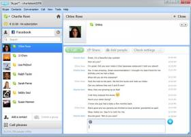Skype Portable screenshot