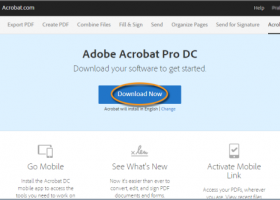 Adobe Acrobat screenshot