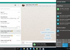 WhatsApp for PC screenshot
