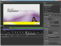 Microsoft Expression Encoder screenshot