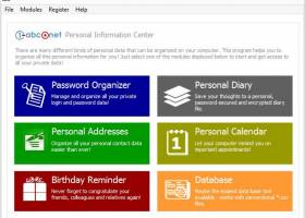 1-abc.net Personal Information Center screenshot