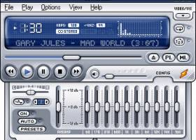 Winamp Media Player screenshot