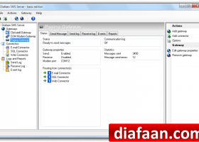 Diafaan SMS Server - basic edition screenshot