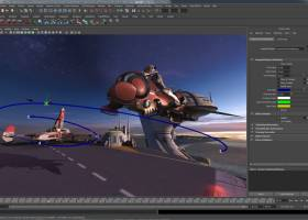 Autodesk Maya 2012 screenshot