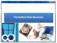 Formatted Disk Recovery screenshot
