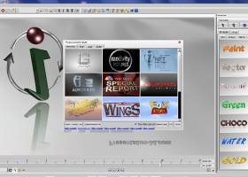 Aurora 3D Animation Maker screenshot