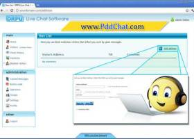 Chat Website screenshot